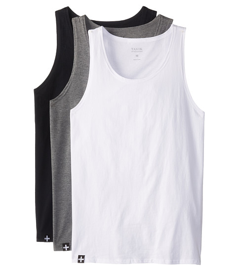 Tavik - 3 Pack Tanks (Multi) Men's Sleeveless