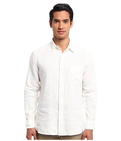 Jack Spade - Howard Linen Shirt (White) Men's Clothing