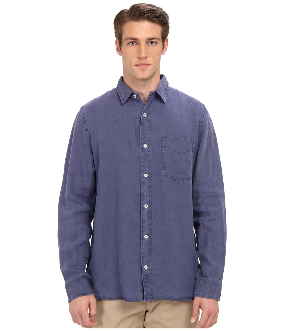 Jack Spade - Howard Linen Shirt (Navy) Men