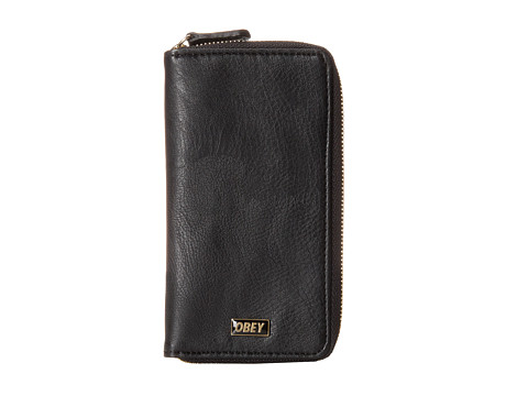 Obey - Drexel Cell Phone Wallet (Black) Cell Phone Case