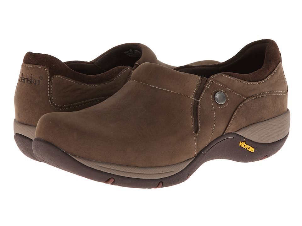 Dansko Celeste (Brown Milled Nubuck) Women