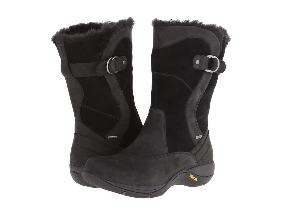 Dansko - Cynthia (Black Milled Nubuck) Women's Boots plus size,  plus size fashion plus size appare