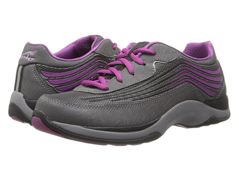 Dansko - Shayla (Charcoal/Berry Smooth) Women