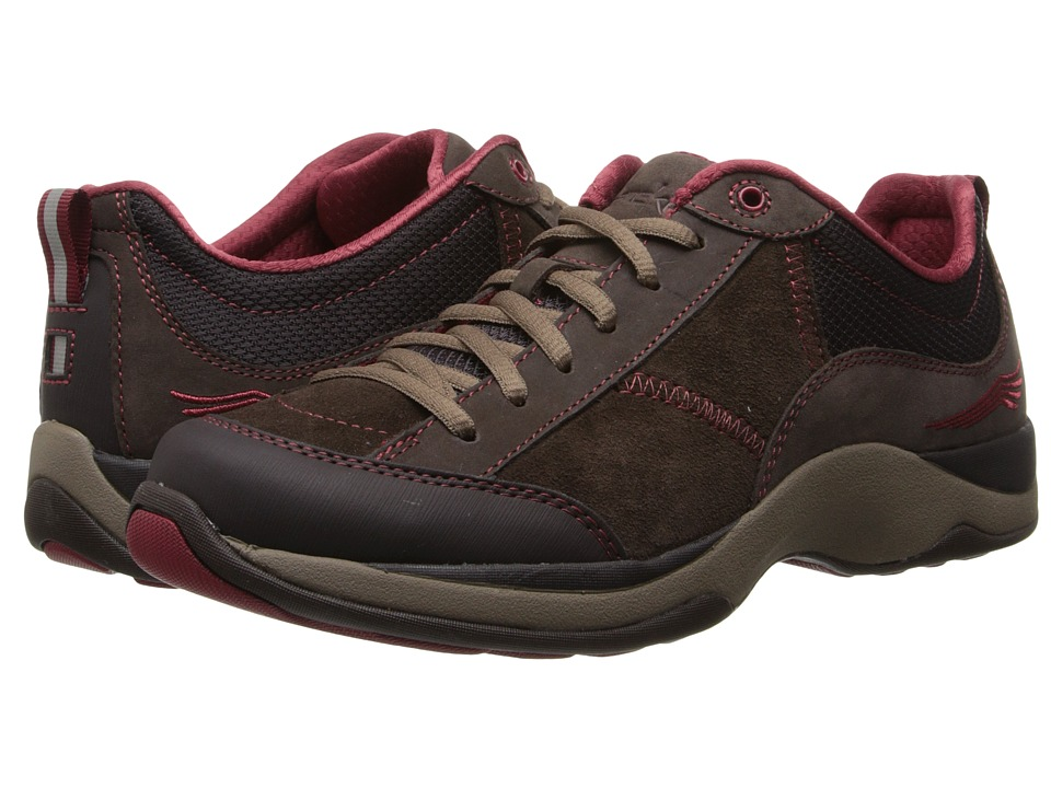 Dansko - Sabrina (Brown/Brick Suede) Women's Lace up casual Shoes