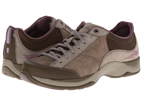Dansko - Sabrina (Taupe/Plum Suede) Women's Lace up casual Shoes