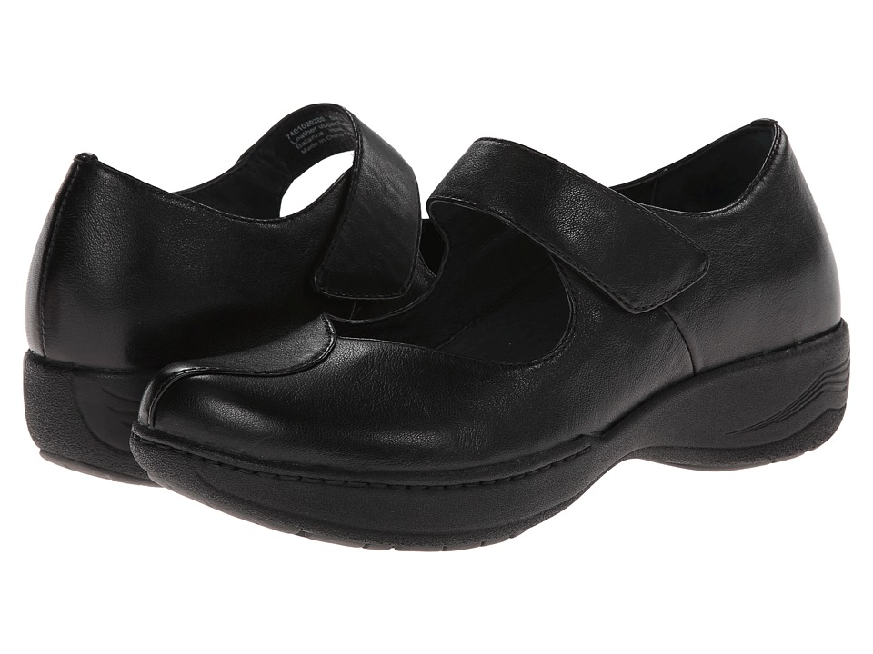 Dansko Annie (Black Milled Full Grain) Women