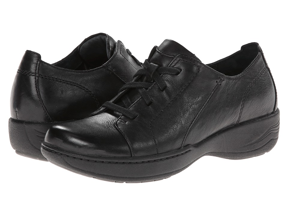 Dansko Adriana (Black Milled Full Grain) Women