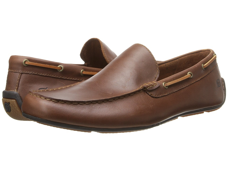 Born - Marcus (Chestnut (Tan) Full-Grain Leather) Men's Slip on Shoes