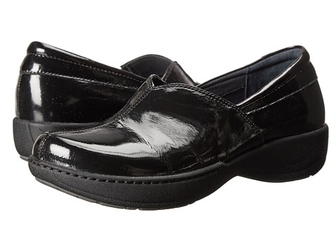 Dansko - Abigail (Black Crinkle Patent) Women's Shoes