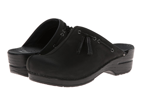Dansko - Shannon (Black Milled Nubuck) Women's Clog Shoes
