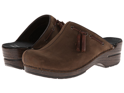Dansko - Shannon (Brown Milled Nubuck) Women's Clog Shoes