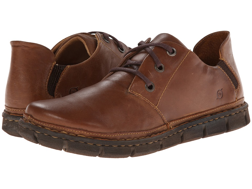 Born - Sandor (Tan Full-Grain Leather) Men's Shoes