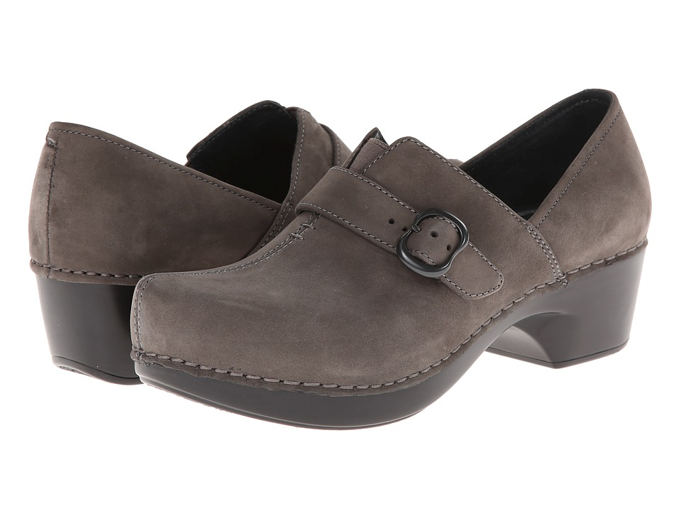 Dansko - Tamara (Grey Nubuck) Women's Clog Shoes