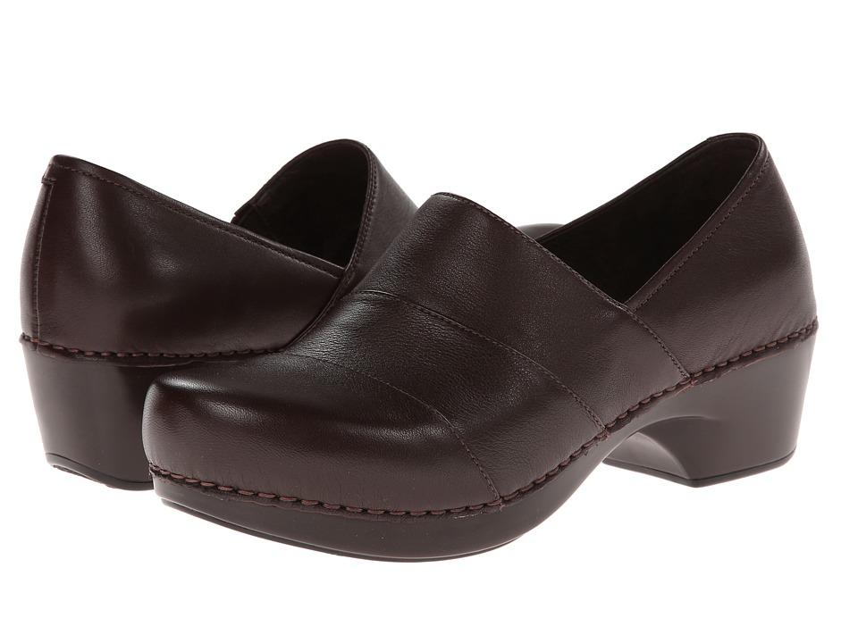 Dansko - Tenley (Brown Nappa) Women's Clog Shoes