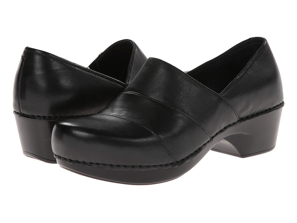Dansko - Tenley (Black Nappa Leather) Women's Clog Shoes