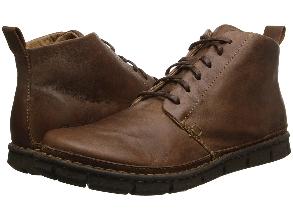 Born - Jax (Tan Full-Grain Leather) Men's Lace-up Boots