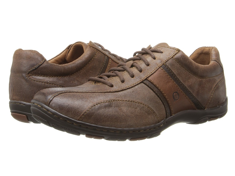 Born - Manny (Bark (Brown) Combo) Men's Lace up casual Shoes
