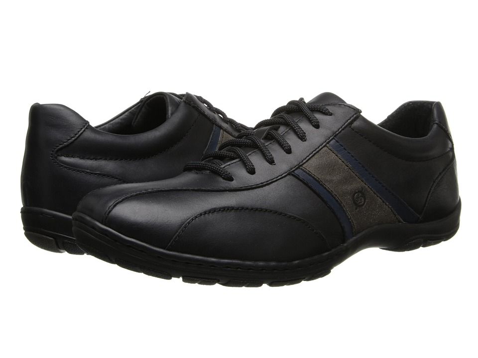 Born - Manny (Black Combo) Men's Lace up casual Shoes