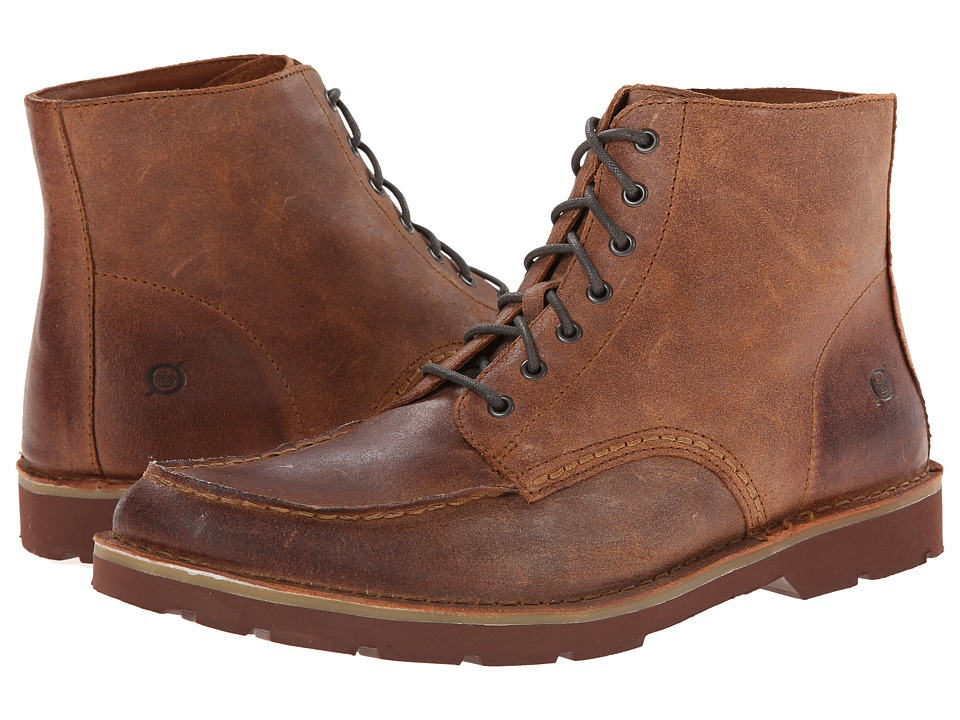 Born - Aron (Bark (Brown) Suede) Men
