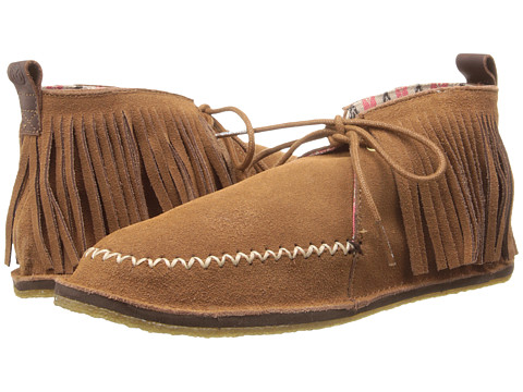 Ocean Minded - Ruffout Moc (Hazelnut) Women's Shoes