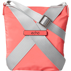 SALE! $41.99 - Save $26 on Echo Design X Bag Brights Crosswalk Xbody (Coral Red) Bags and Luggage - 38.25% OFF $68.00