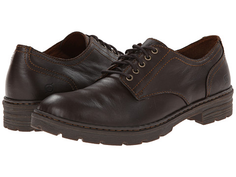 Born - Marlon (Barrel (Dark Brown) Full-Grain Leather) Men's Lace up casual Shoes