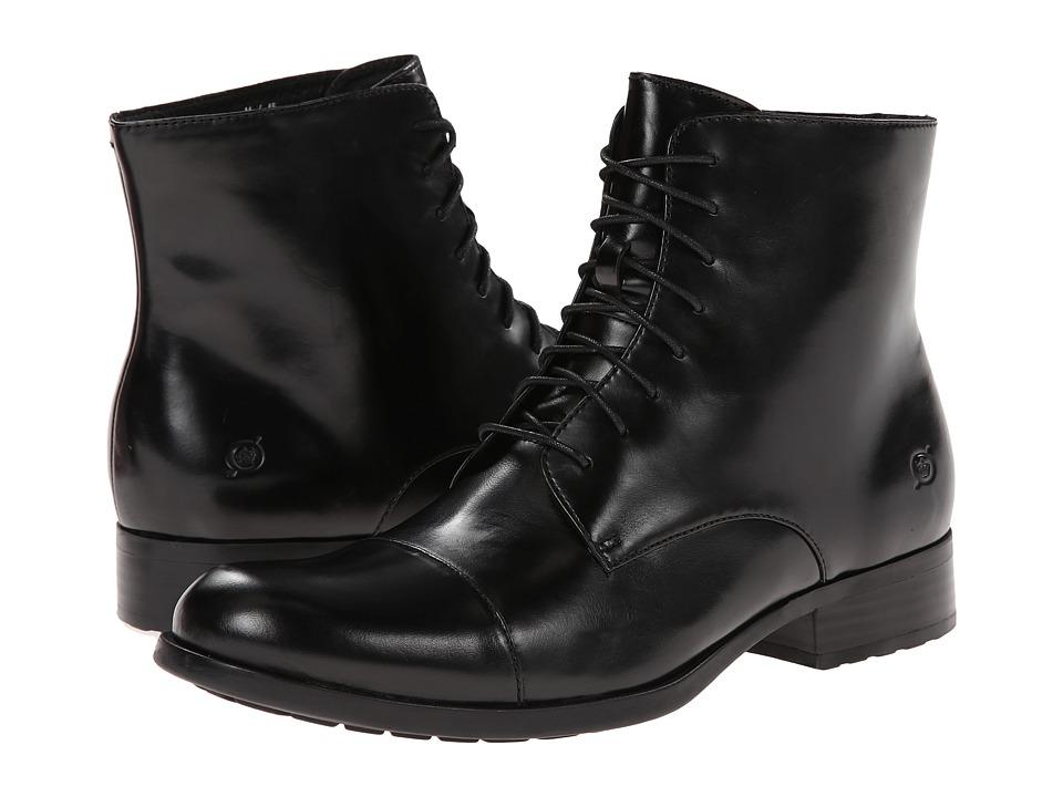 Born - Tomas (Black Full-Grain Leather) Men's Lace-up Boots