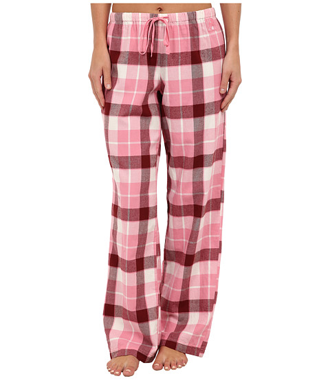 Life is good - Classic Plaid Sleep Pant (Blush Pink Plaid) Women's Pajama