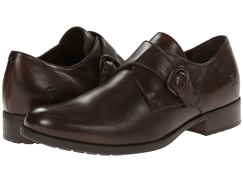Born - Vallon (Cognac (Rust) Full-Grain Leather) Men