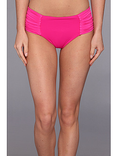 SALE! $44.99 - Save $30 on Seafolly Goddess Pleated Retro Bottom (Neon Pink) Apparel - 40.01% OFF $75.00