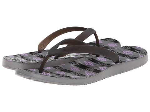 Ocean Minded - Malia II Flip (Black/Smoke) Women's Sandals