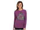 Life is good Cool L/S Tee (Perfect Plum)