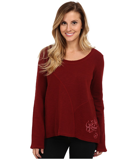 Life is good - Elliptical Sweatshirt (Fresh Cranberry) Women