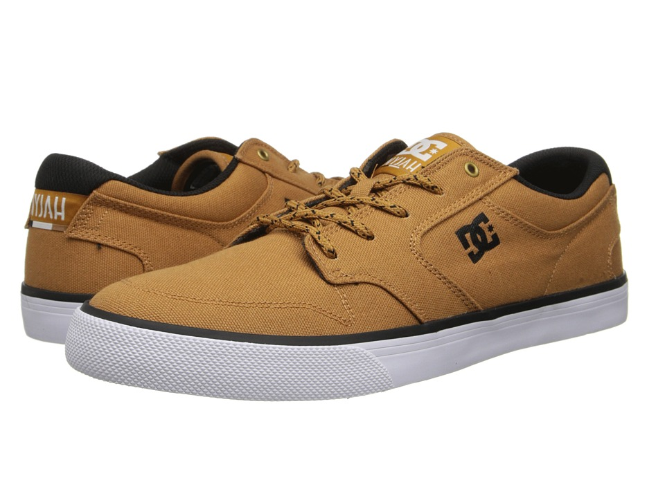 DC - Nyjah Vulc TX (Wheat) Men's Skate Shoes