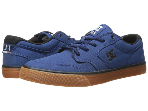 DC - Nyjah Vulc TX (Estate Blue) Men's Skate Shoes