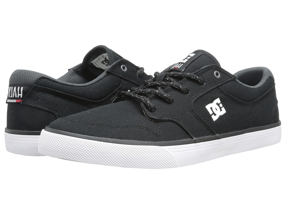 DC Nyjah Vulc TX (Black/White) Men