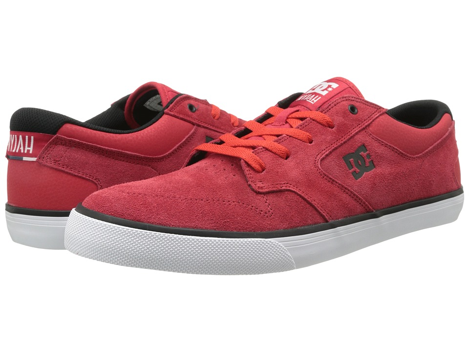 DC - Nyjah Vulc (Red/Black) Men's Skate Shoes