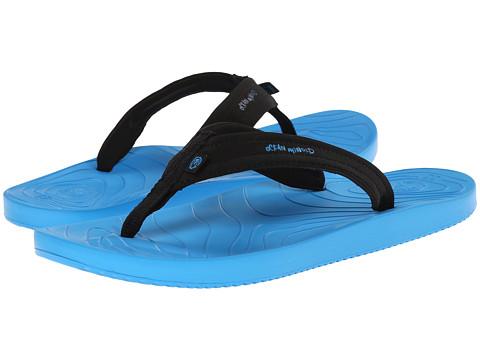 Ocean Minded - Waveseeker Flip II (Ocean/Black) Men's Sandals