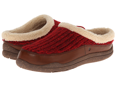 Acorn - WearAbout Clog with FirmCore (Cranberry) Women