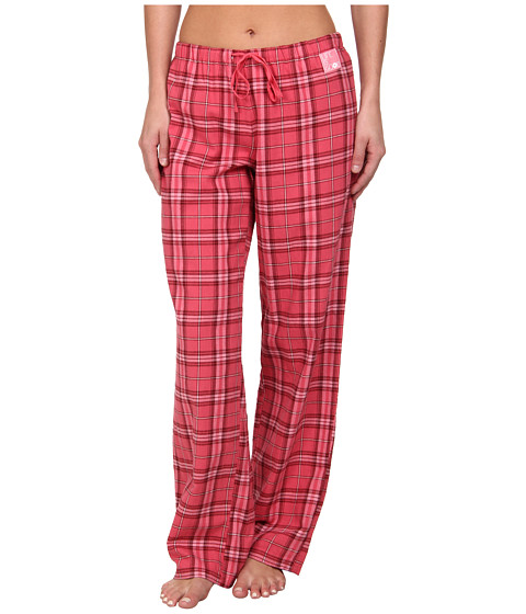 Life is good - Classic Plaid Sleep Pant (Azalea Pink Plaid) Women
