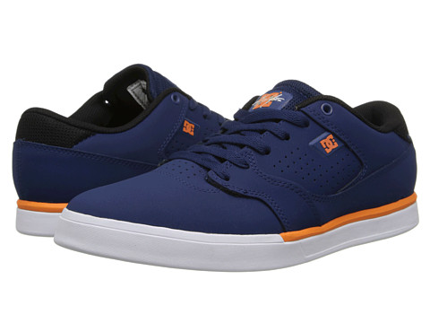 DC - Cole Lite (Blue/White) Men's Skate Shoes
