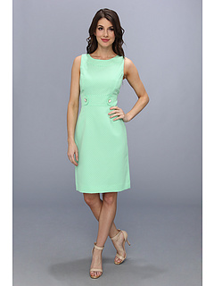 SALE! $45.99 - Save $82 on Tahari by ASL Lindsay N Novelty Jacquard Dress (Mint White) Apparel - 64.07% OFF $128.00