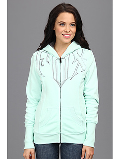 SALE! $62.99 - Save $27 on Fox Validate Sherpa Zip Hoody (Mint) Apparel - 29.62% OFF $89.50