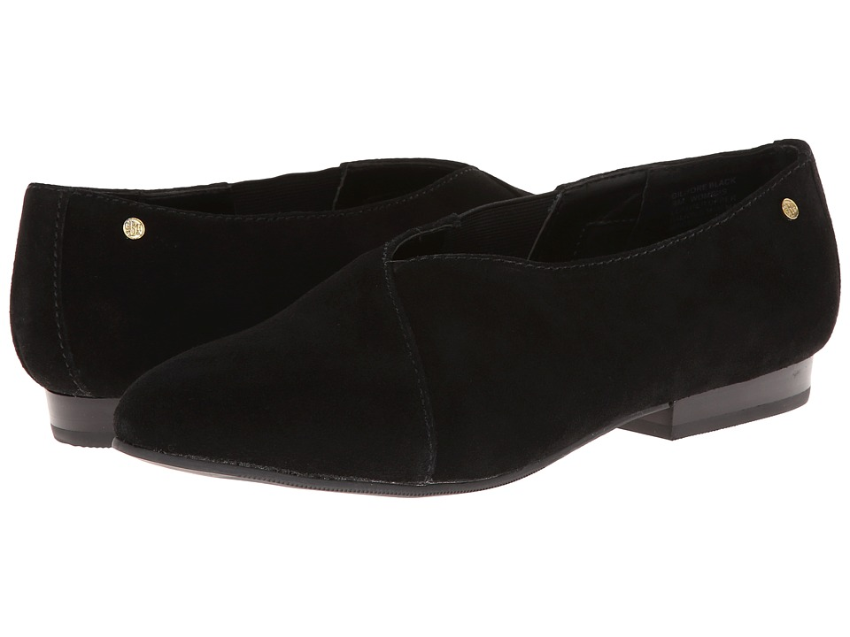 Bass - Gilmore (Black Suede) Women