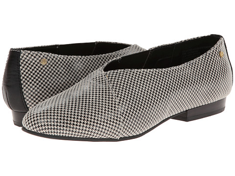 Bass - Gilmore-1 (Black/White Houndstooth) Women's Shoes