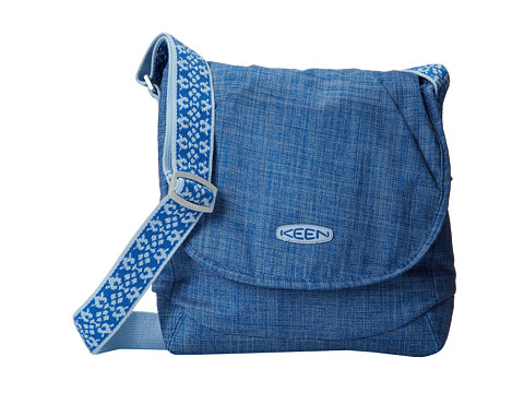 Keen - Brooklyn II Travel Bag Cross Hatch (Cobalt/Cobalt/Academy) Cross Body Handbags