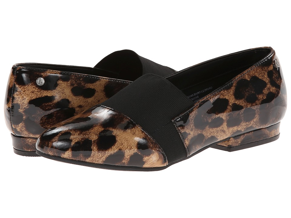 Bass - Giovanna (Shiny Leopard) Women's Shoes