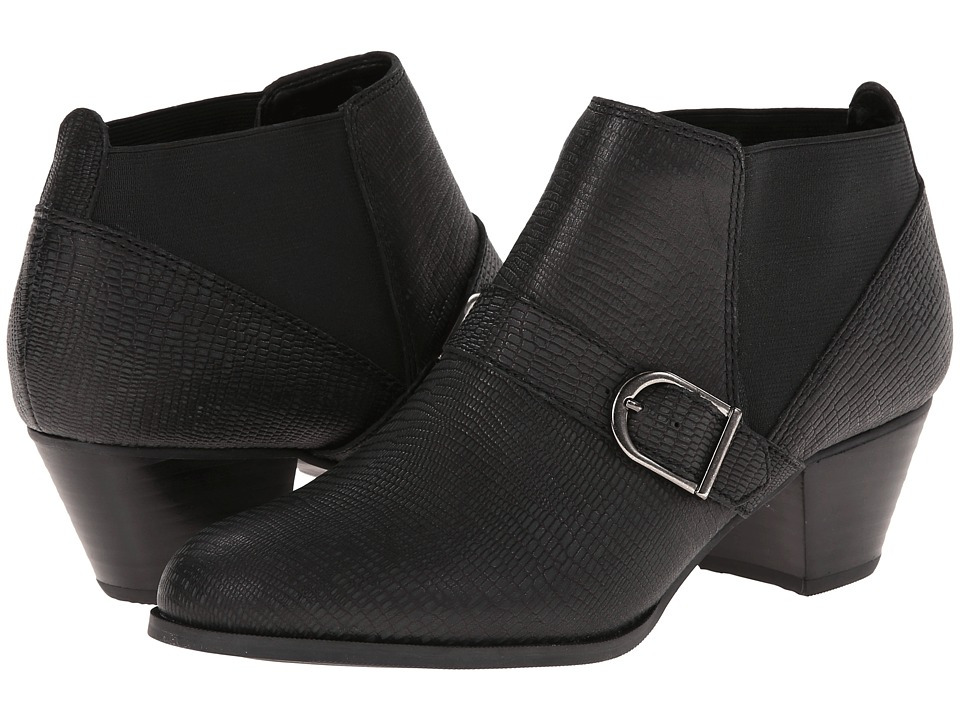 Bass - Paloma-1 (Black Lizard) Women's Boots