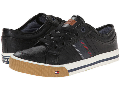 Tommy Hilfiger Kids - Dennis Retro Lace Up (Toddler/Little Kid/Big Kid) (Black 1) Boys Shoes