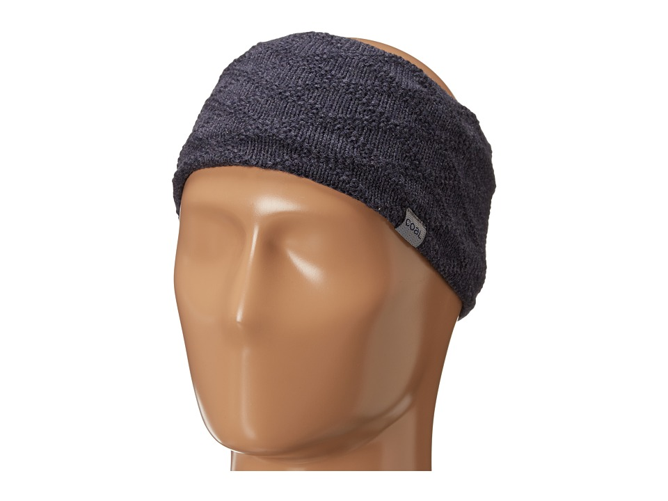 Coal - The Ellis Headband (Navy) Knit Hats